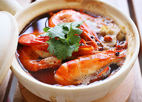 Drunken-Herbal-Prawns