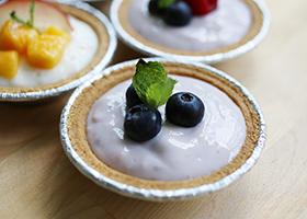 Mini Yoghurt Fruit Tarts