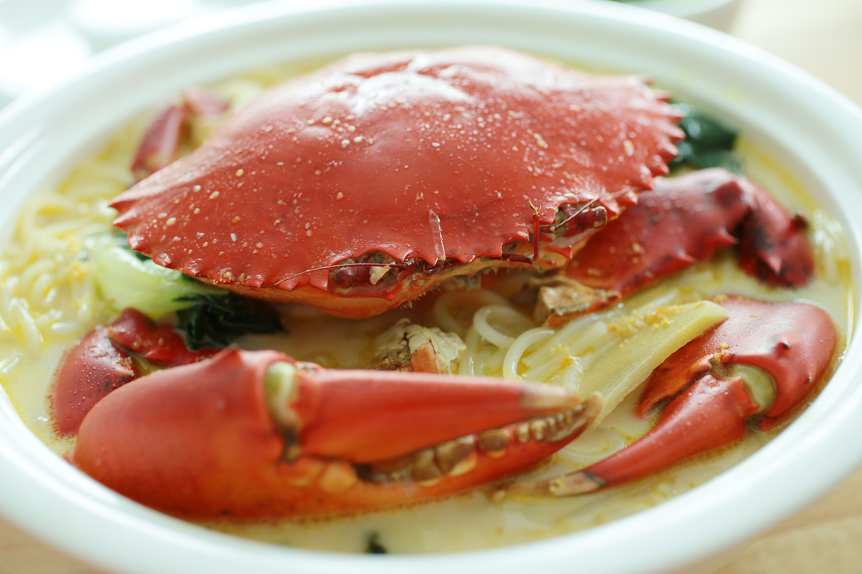 Crab Bee Hoon Soup - 螃蟹米粉汤