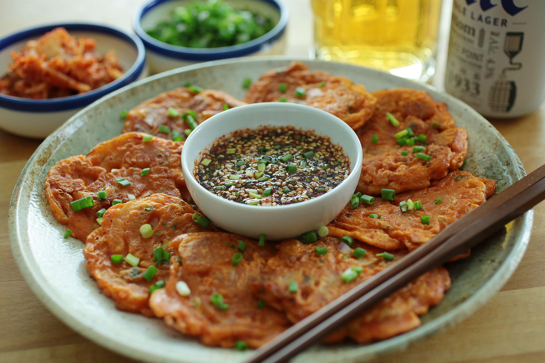 Kimchi Pancake - 韓式泡菜餅