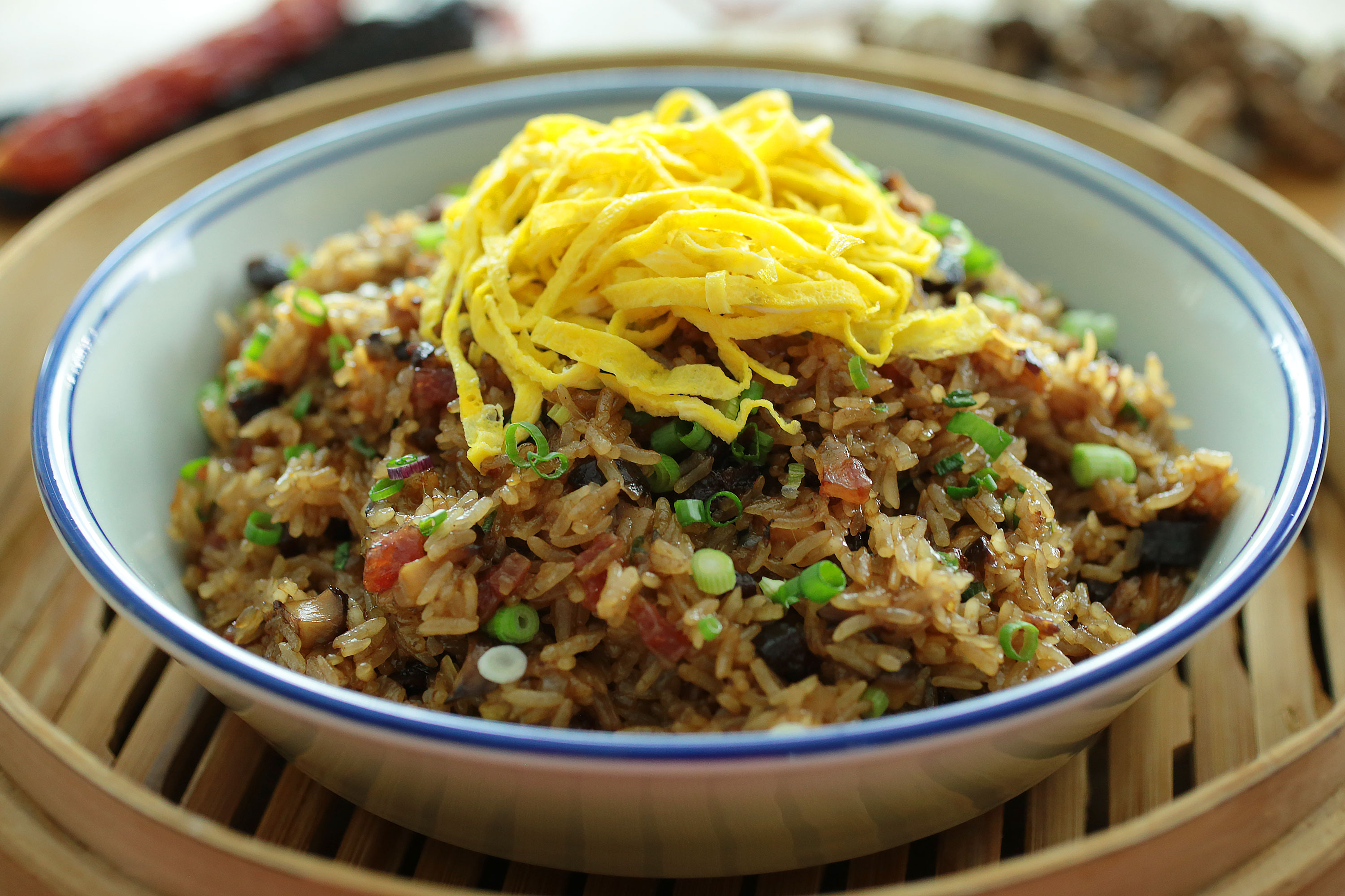 Fried Glutinous Rice - 生炒糯米飯