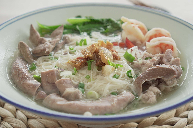 Innards Mee Sua Soup - 猪杂面线汤
