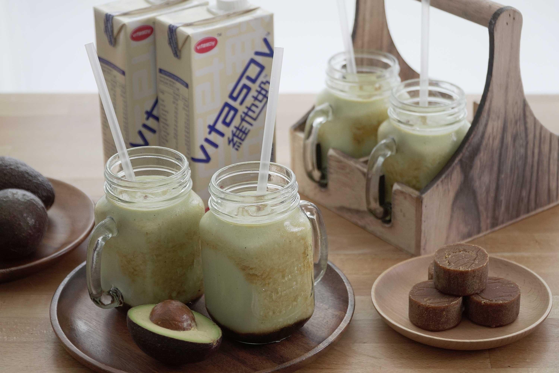 Avocado Soy Milkshake - 鳄梨豆奶昔