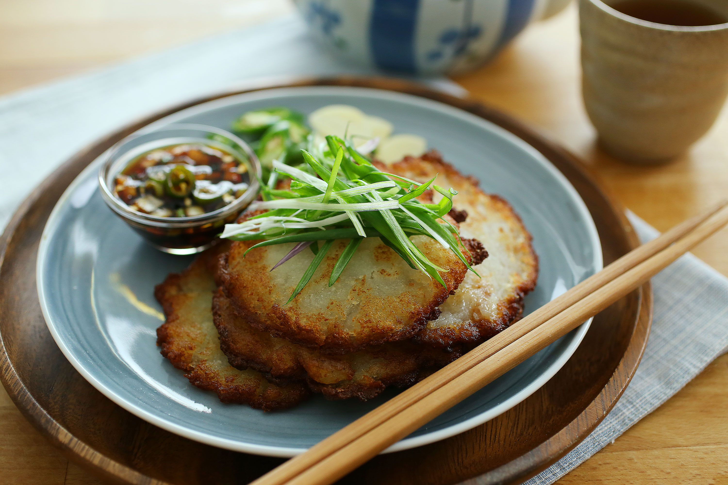 Korean Potato Pancake - 韩式马铃薯煎饼