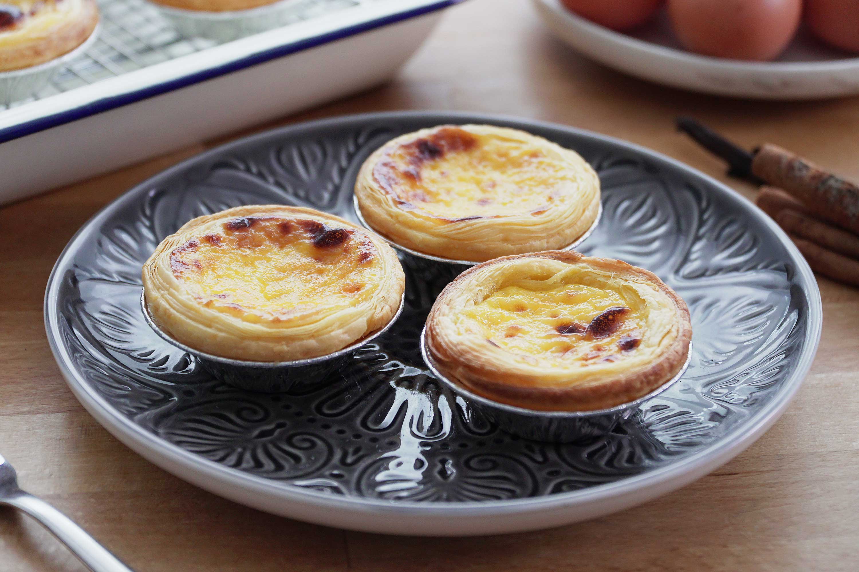 Portuguese Egg Tarts - 葡式蛋挞