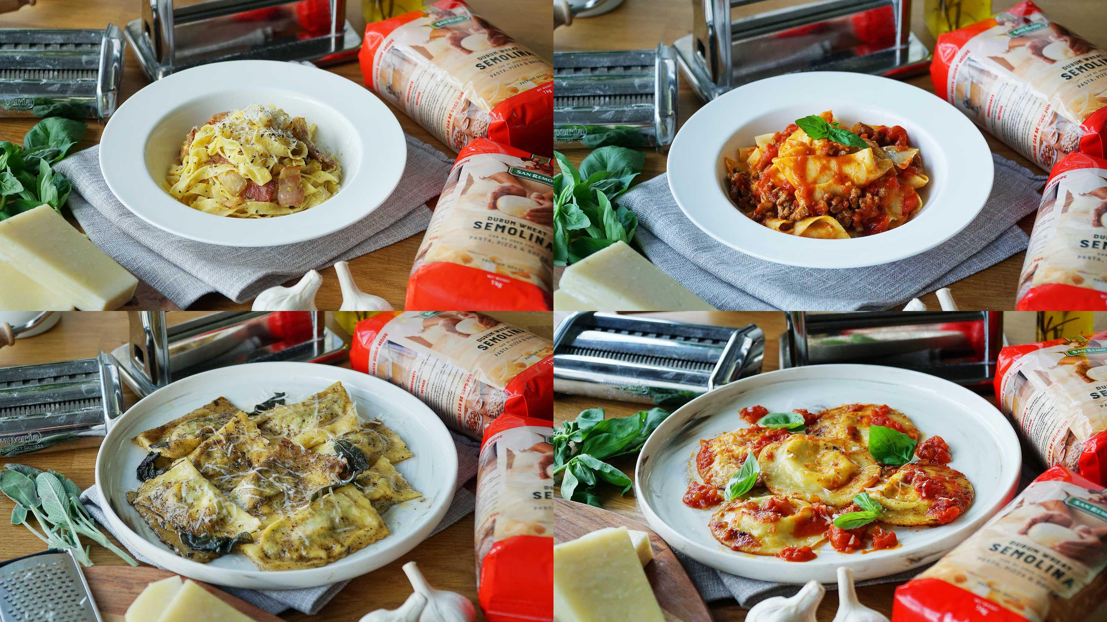 4 Handmade Fresh Pasta