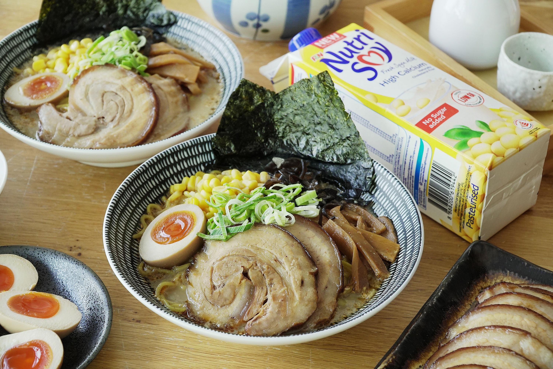 Tonkotsu Chashu Soy Milk Ramen - 日式叉燒豆浆拉面