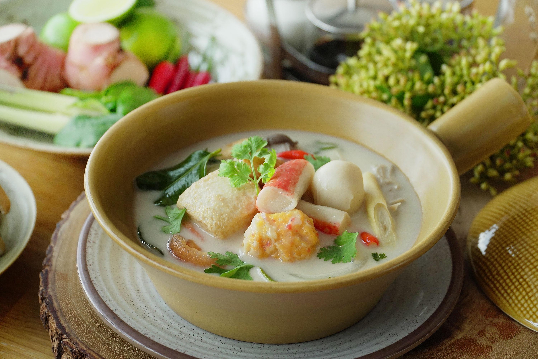 Thai Coconut Soup - 泰食椰奶汤
