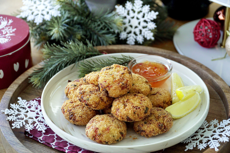 Crab and Mango Fritters - 芒果蟹饼