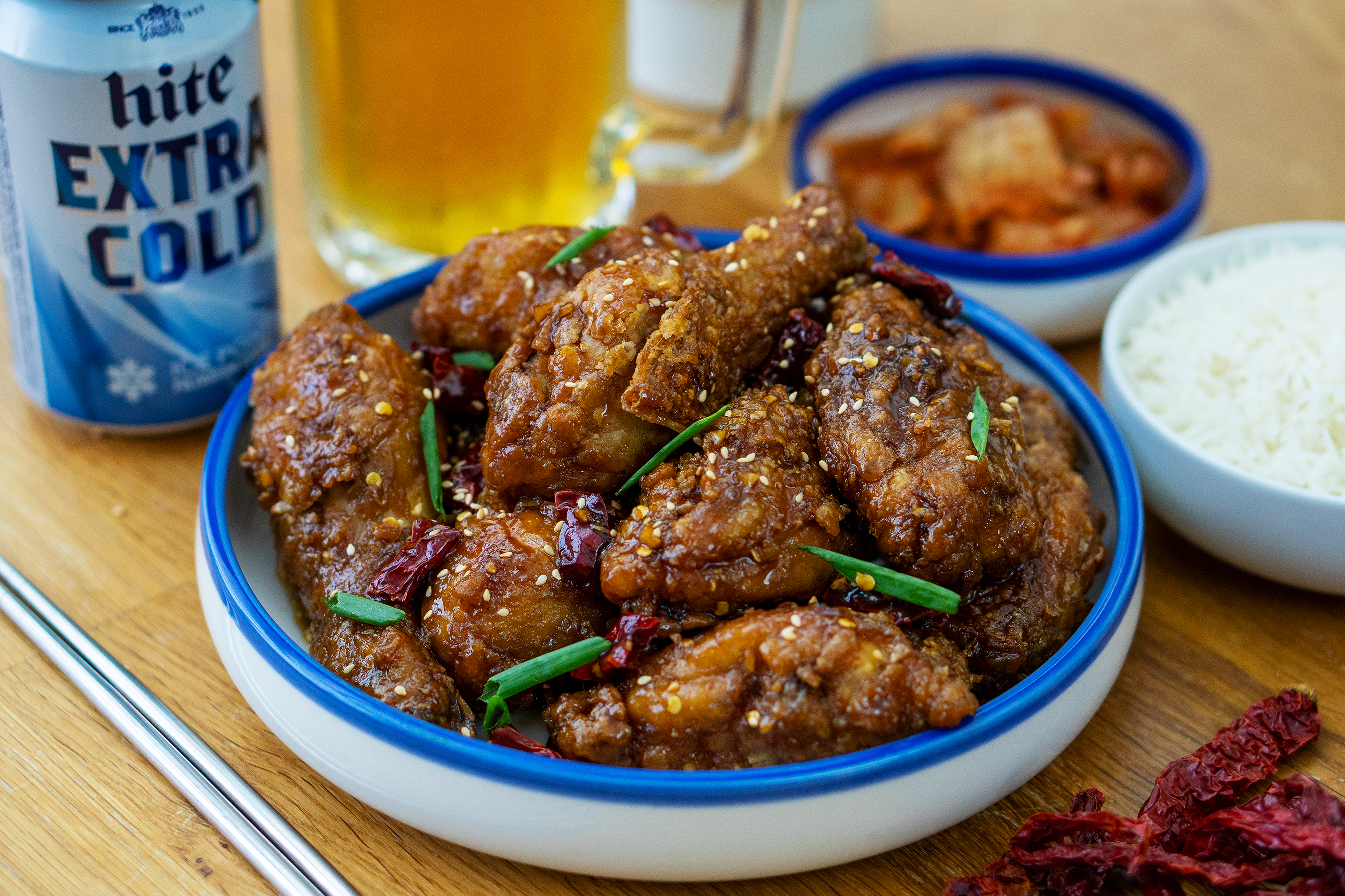 Korean Fried Chicken - 韩式炸鸡