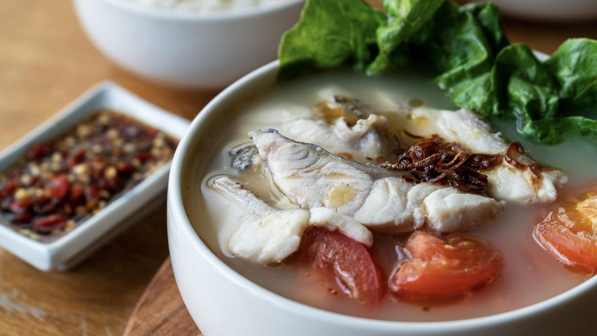 Fish soup - 鱼片汤