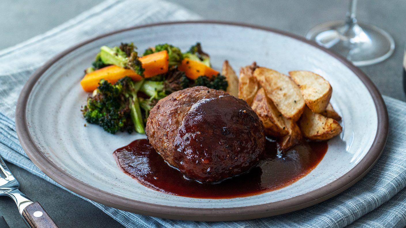 Hamburg Steak - 汉堡牛排