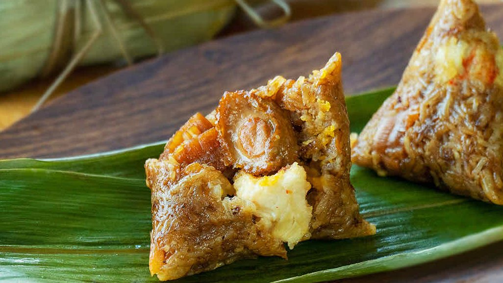 Seafood Bak Chang - 海鲜粽子